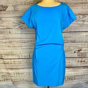HELLY HANSEN Blue Quick Dry Siren Dress Sz Medium
